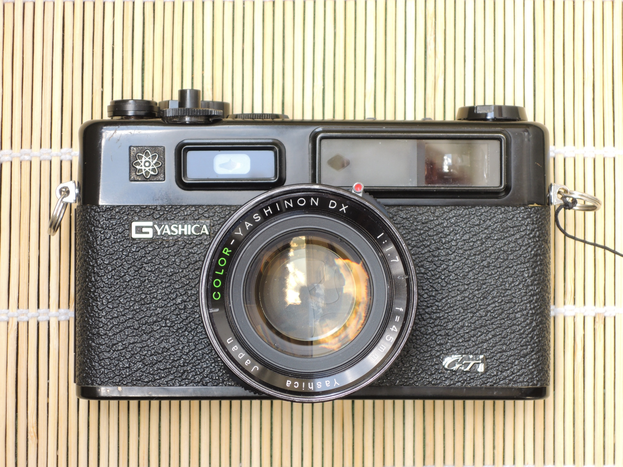 Yashica Electro 35 GT front