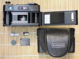 Yashica Electro 35 GT battery adapter