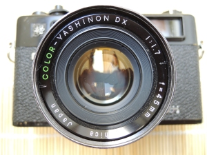 Yashica Electro 35 GT lens