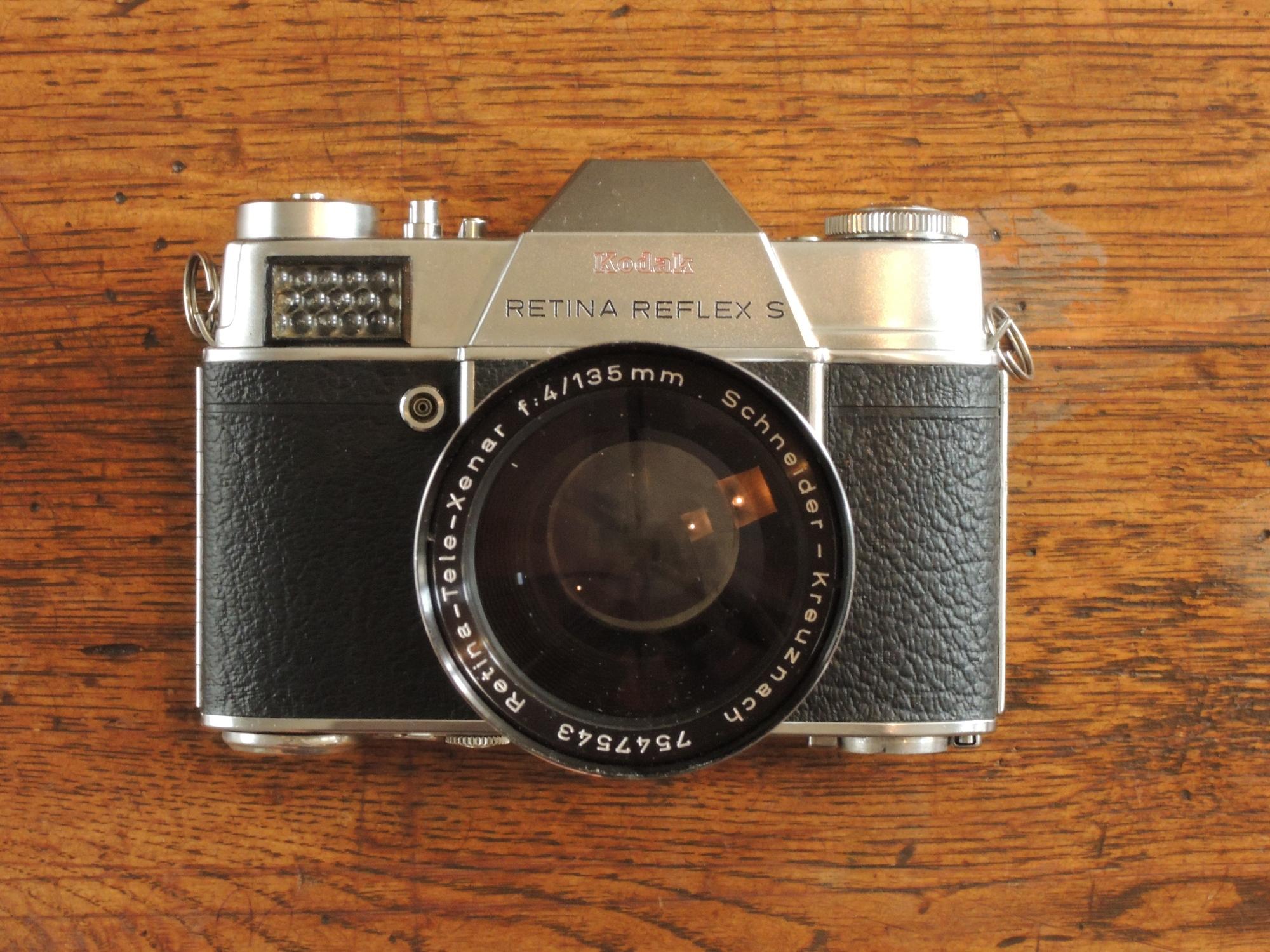 Kodak Retina Reflex S front 4/135
