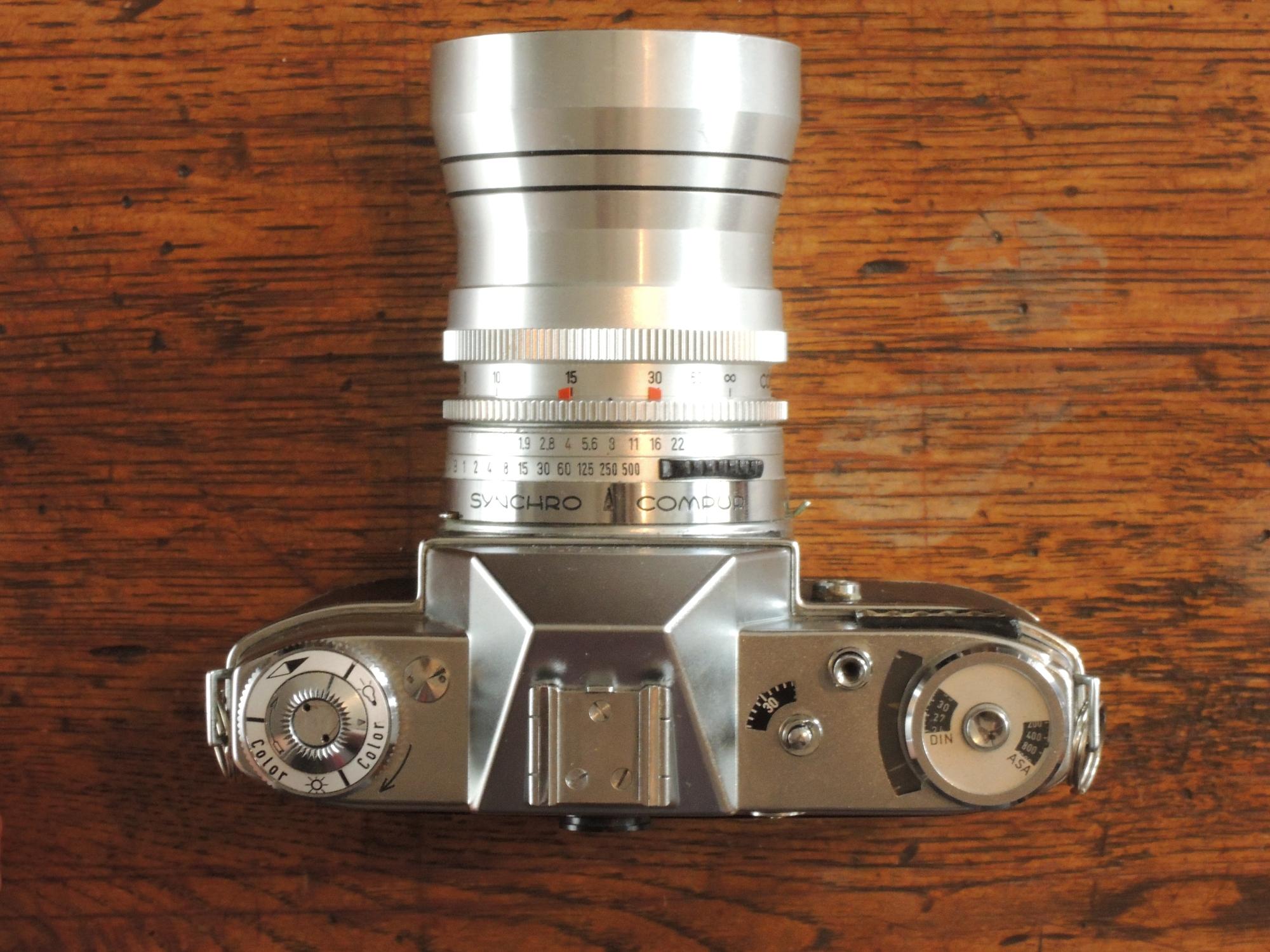Kodak Retina Reflex S top 4/135