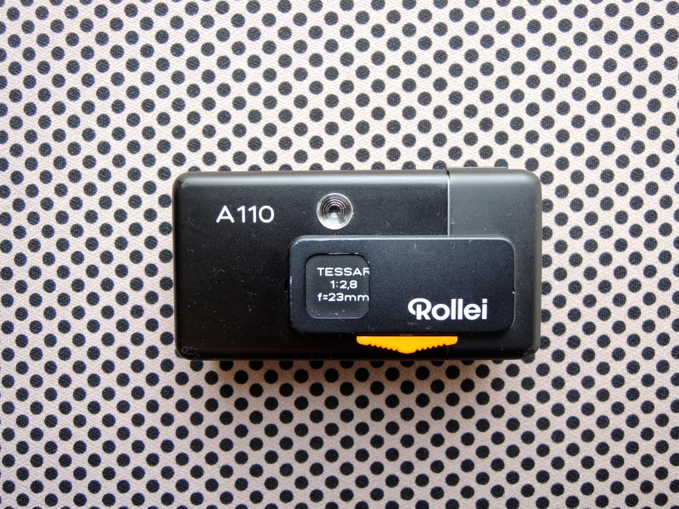 Rollei A110 front