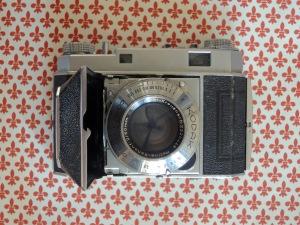 Kodak Retina II front open