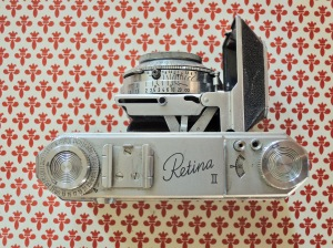 Kodak Retina II top open