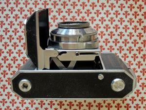 Kodak Retina II bottom open