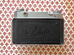 Kodak Retina II back closed