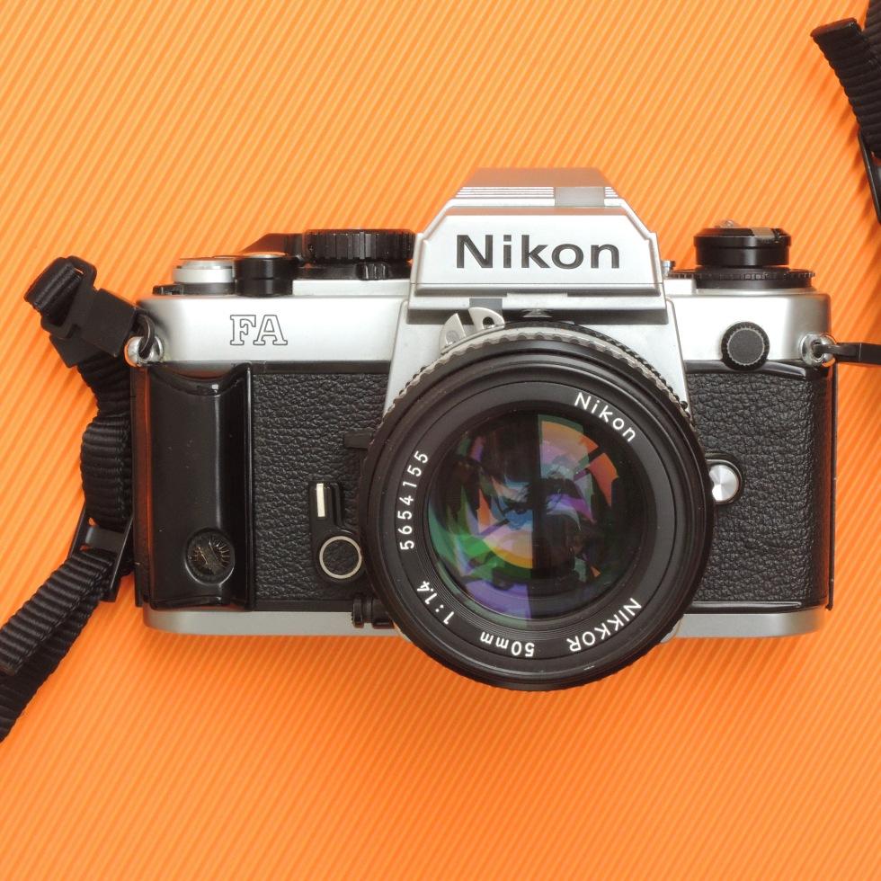 Nikon FA front