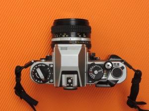 Nikon FA top