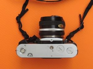 Nikon FA bottom