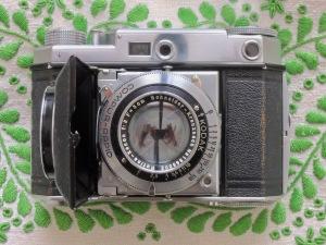 Kodak Retina II (142) front opened