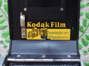 Kodak Retina II (142) film sticker