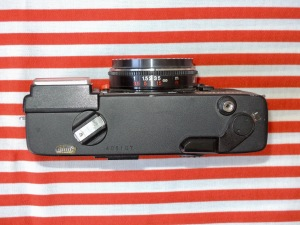 Konica C35 EF top